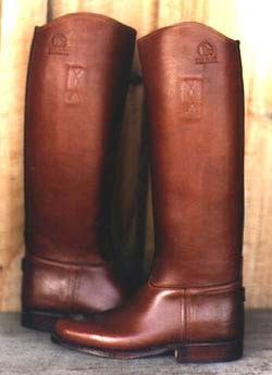 English Polo Boot (pull-on) - Dark Brown Oiled Leather